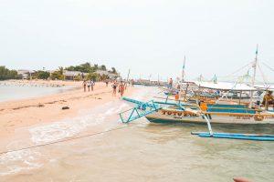 Palawan Small Island with Boats