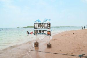 Luli Island Sign Palawan