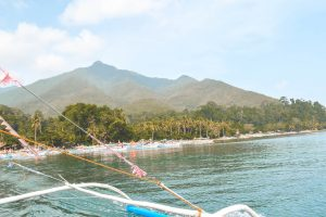 Palawan Island Hopping View from Boat