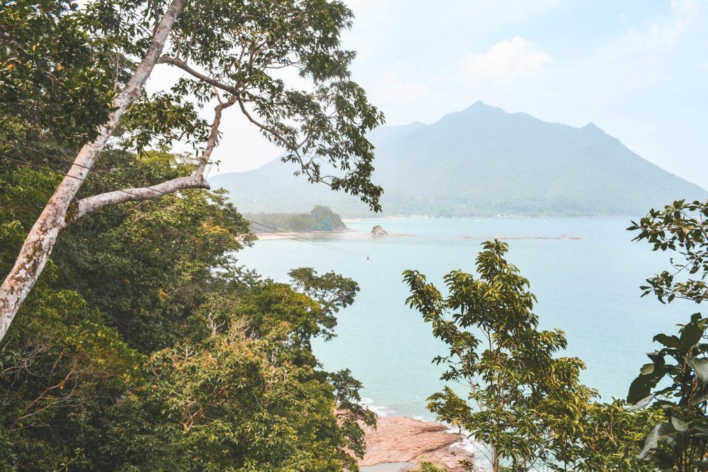 View from Palawan Zipline