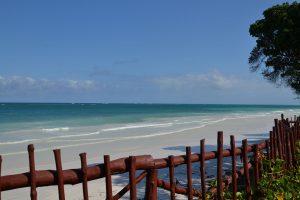 Diani Beach and ocean