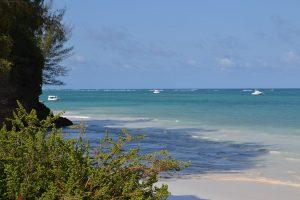 Diani Beach view on ocean