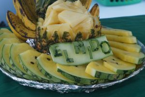 Fruit Platter with El Nido carved melon