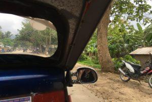 Tricycle ride to get to El Nido PH