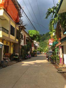 Streets of El Nido Town
