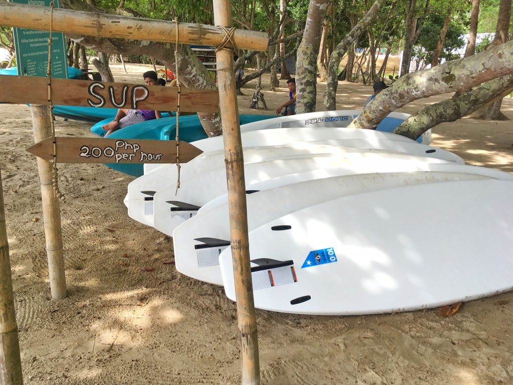 SUP Rental Lio Beach