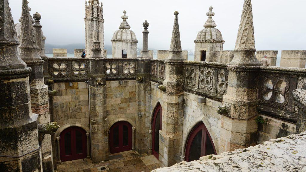 Inside Tower of Belem Portugal