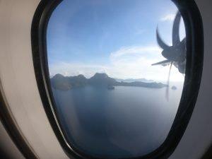 Flying AirSWIFT to El Nido