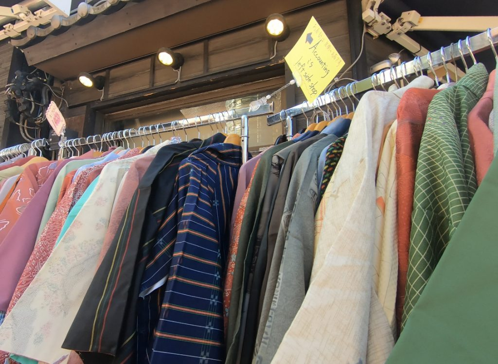 Second Hand Kimonos Kyoto