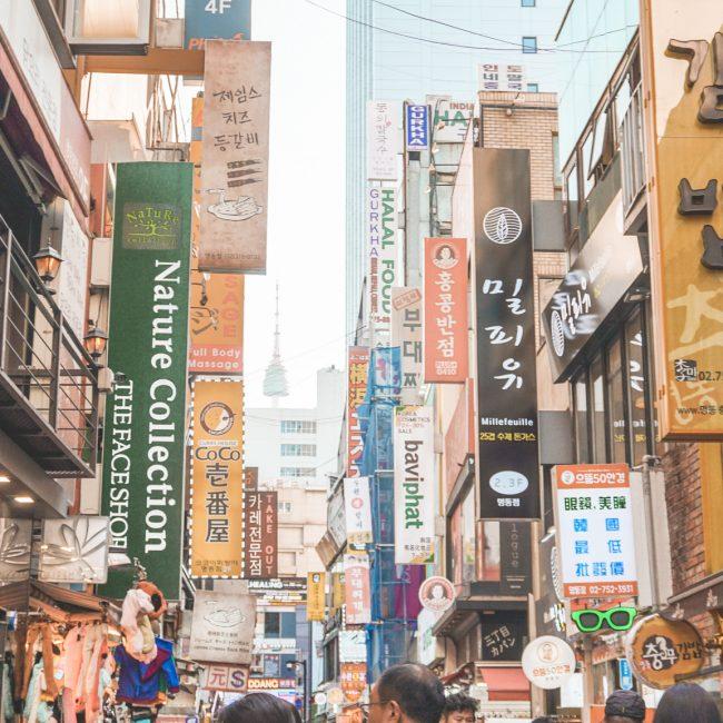 Myeongdong Shopping Area
