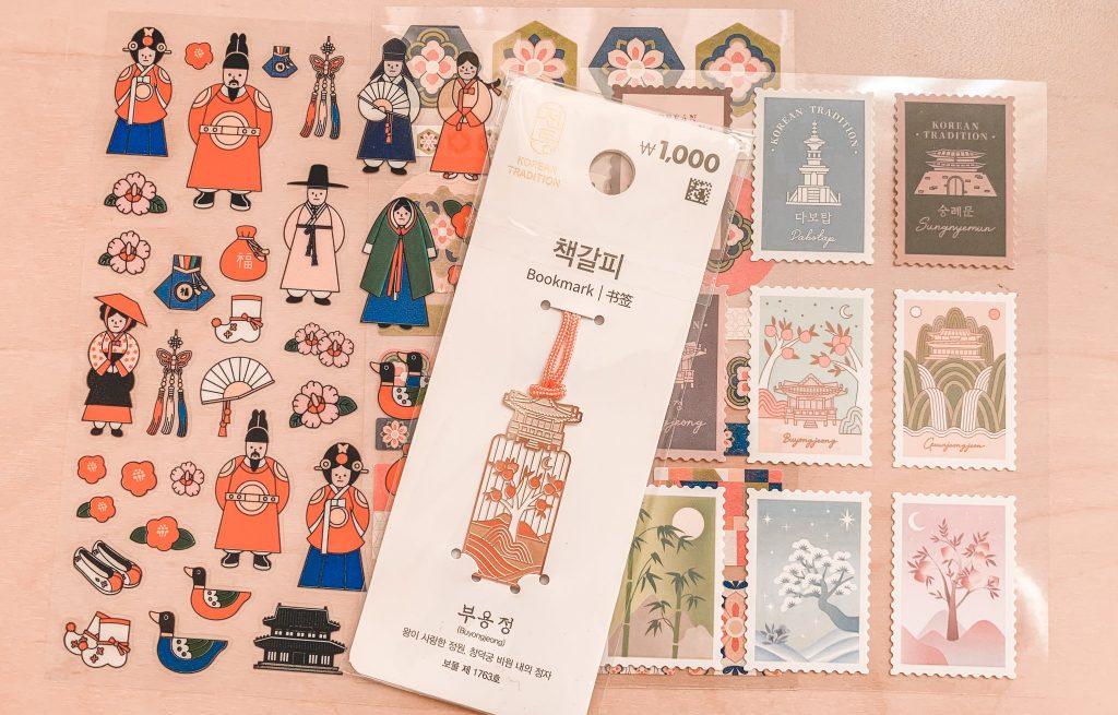 Daiso Seoul Sticker