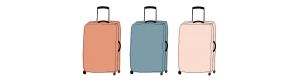 banner suitcases